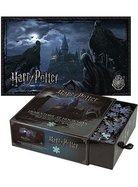 Puzzle Harry Potter de dementores en Hogwarts