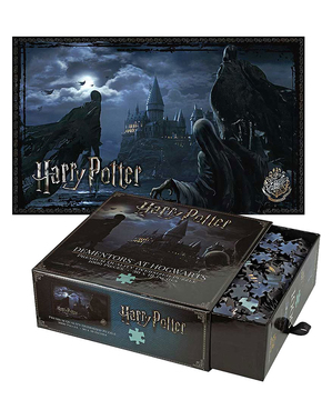 Puzzle Harry Potter de Dementors em Hogwarts