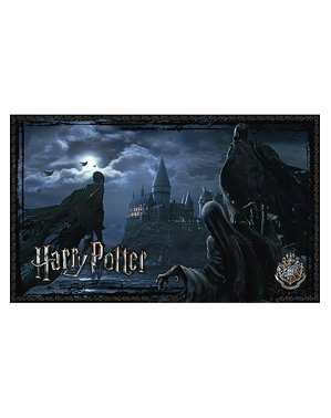 Puzzle Harry Potter cu dementori în Hogwarts