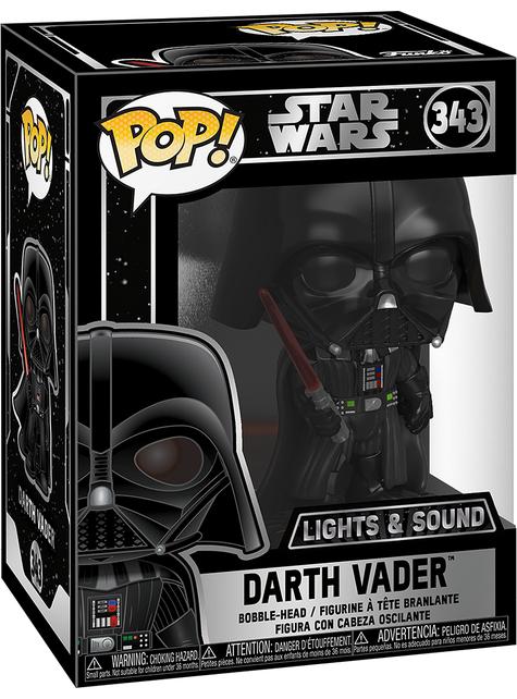 Funko POP! Darth Vader con luz y sonido - Star Wars
