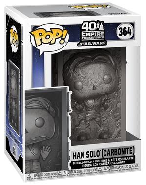 Funko POP! Han Solo carbonizado - Star Wars: Episodio V - El imperio contraataca