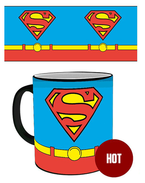 Taza Superman cambia color