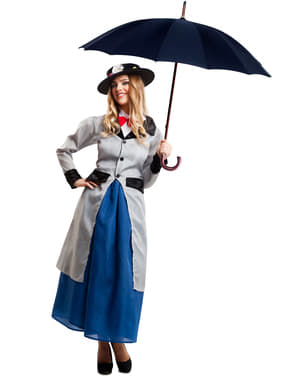 Costum de bonă perfectă pentru femeie