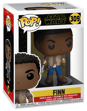 Funko POP! Finn - Star Wars: Episodio IX - El ascenso de Skywalker