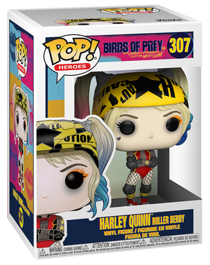 Funko POP! Harley Quinn con patines - Birds of Prey