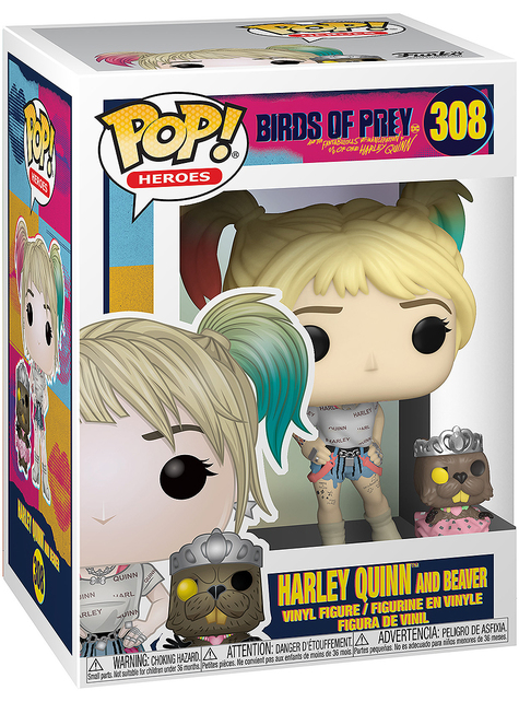 Funko POP! Harley Quinn con Bernie - Birds of Prey