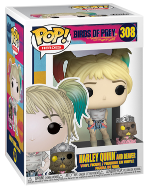 Funko POP! Harley Quinn with Beaver - Birds of Prey