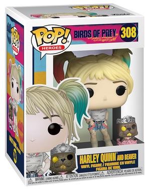Funko POP! Харли Куин с Beaver - на хищните птици