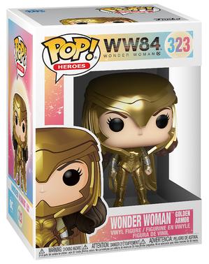 FUNKO POP! Wonder Woman 1984 Gold Power