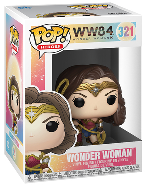 Funko POP! Wonder Woman avec lasso