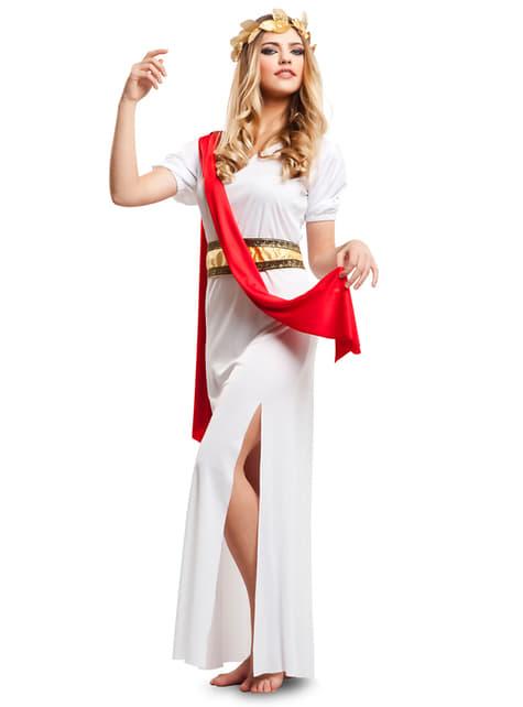 Fato de romana Agripina para mulher