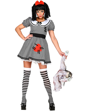 Costum de păpușă halloween