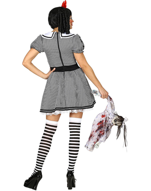 Fato de boneca halloween