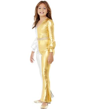 70er Jahre Disco Kostüm für Mädchen