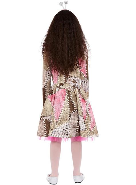 Voodoo-pop kostuum voor meisjes