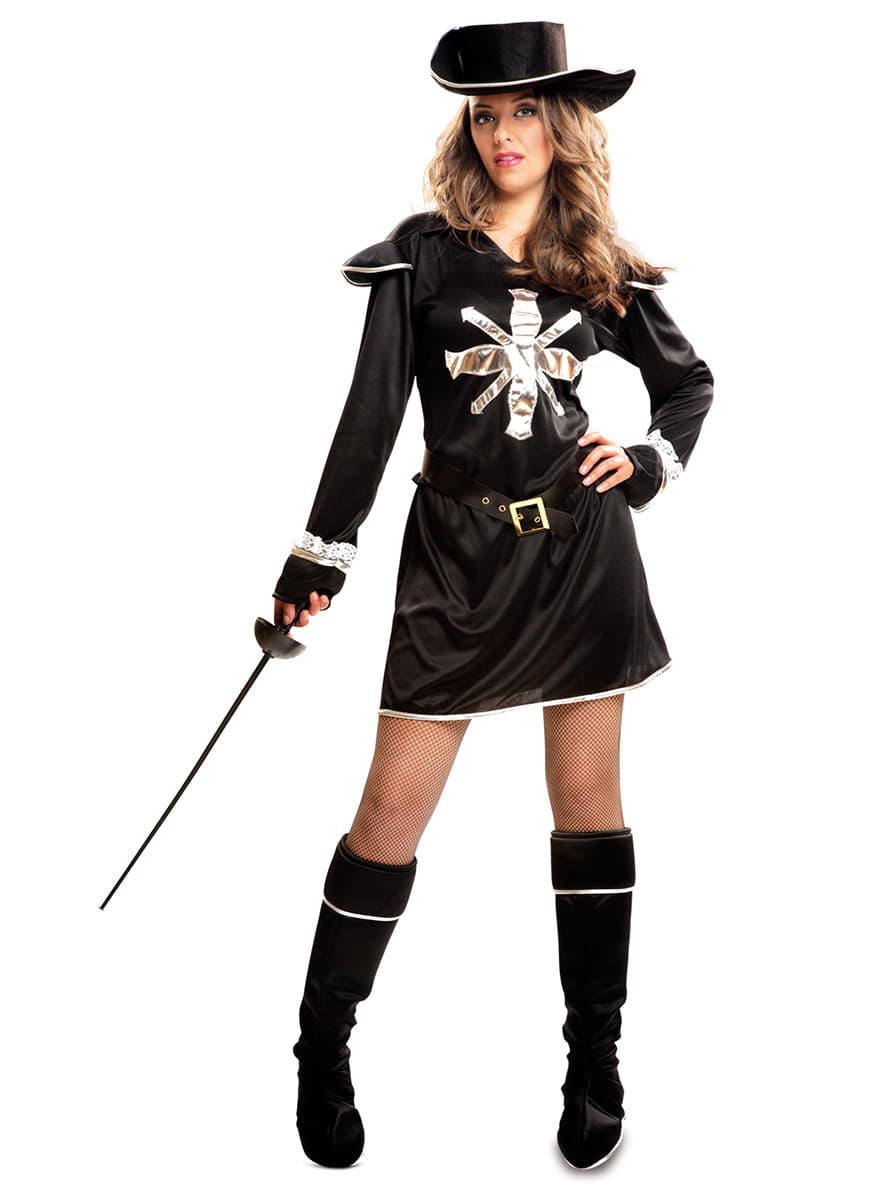 Kostüm Musketier Damen : dunkles musketier kost m f r damen funidelia ~ Frokenaadalensverden.com Haus und Dekorationen