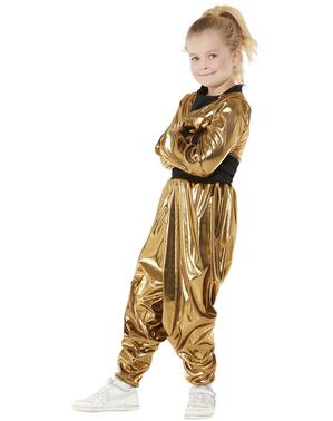 80er Jahre Hammer Time Kostüm für Mädchen