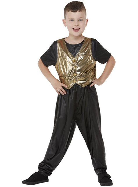 Disfraz años 80 Hammer Time para niño