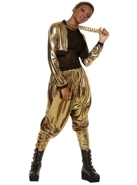 Disfraz años 80 Hammer Time para mujer