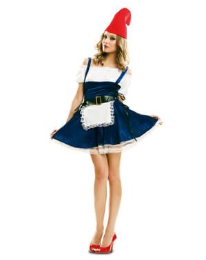 Costume da gnomo del bosco per donna