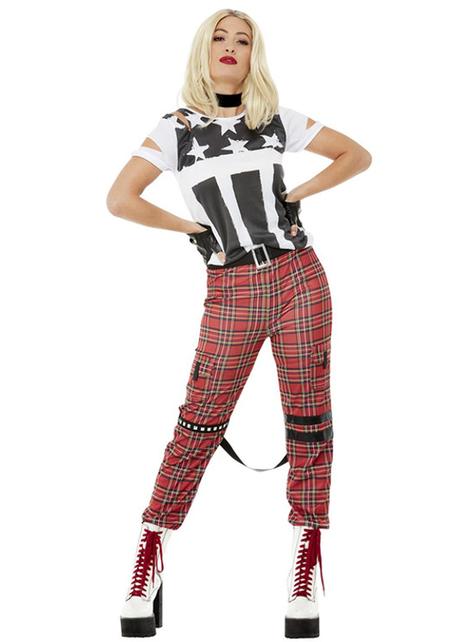 Punk kostim za žene