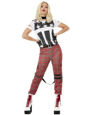 Costume da punk da donna