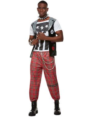 Punk kostuum voor mannen