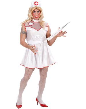 Verpleegster kostuum voor mannen