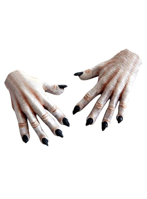 Dłonie biały wędrowiec dla dorosłych