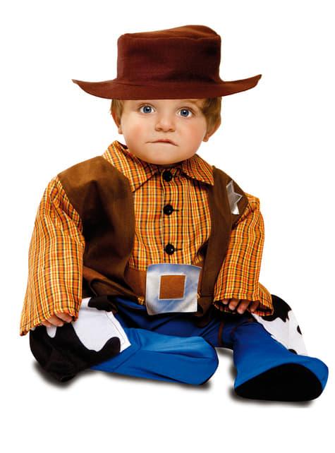 Billy the Kid kostuum voor baby