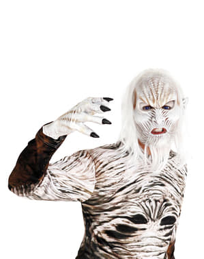 Бялата проходима маска за възрастни