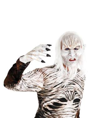 Máscara de caminante blanco para adulto