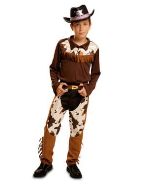 Strój kowboj z rodeo dla chłopca