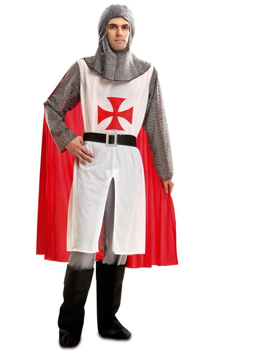 mens knight templar costume