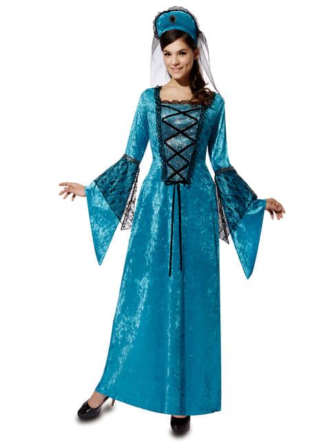 Woman's Medieval Princess Costume