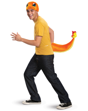 Kit déguisement Salamèche Pokémon