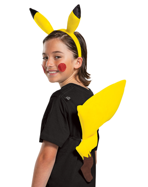 Kit costum Pikachu Pokemon
