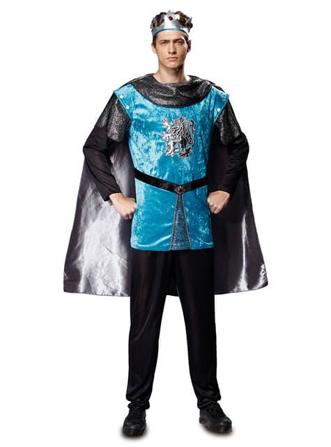 Disfraz de príncipe del medievo para hombre