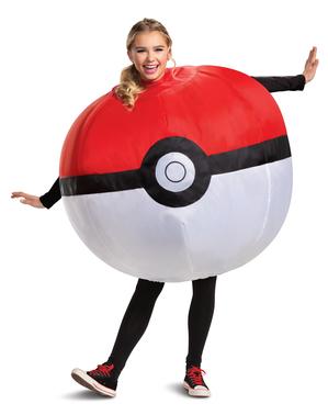 Uppblåsbar Pokéball dräkt - Pokémon