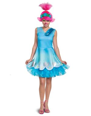 Poppy fra Trolls Kostume til Kvinder