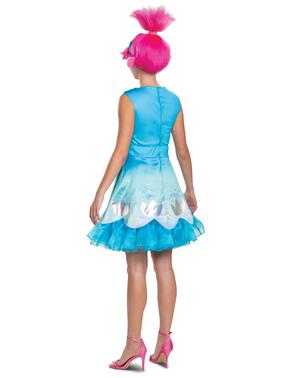 Poppy fra Trolls Kostyme til Dame