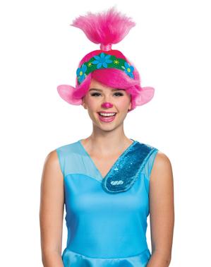 Poppy från Trolls peruk för dam