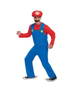 Costum Mario pentru adult
