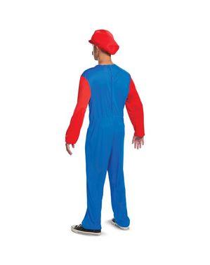 Mario dräkt för vuxna
