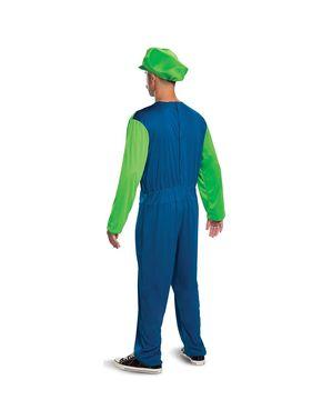 Luigi κοστούμι για ενήλικες