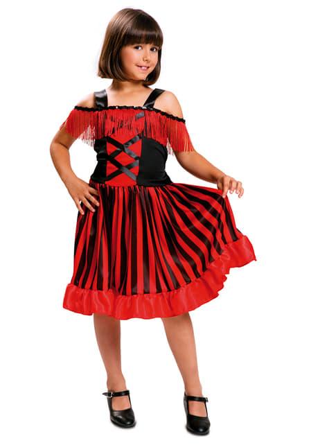 Kostium tancerka kankan dla dziewczynki