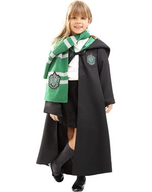Fato Slytherin Harry Potter para criança