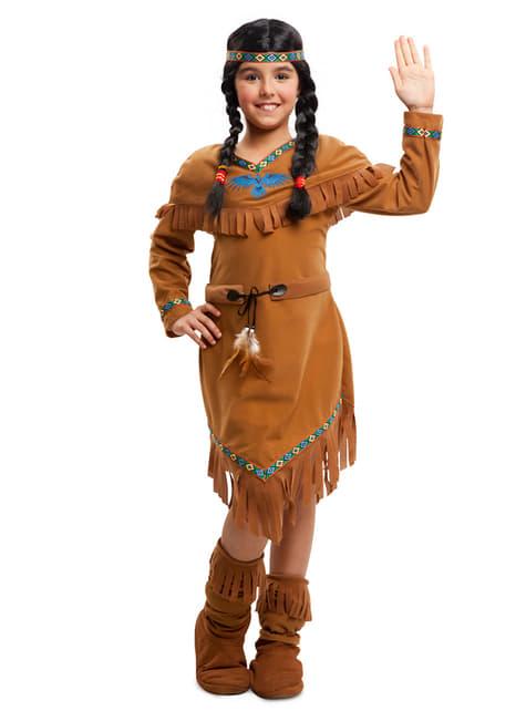 Kostium indianka apacz dla dziewczynki