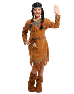 Maskeraddräkt Apacheindian barn