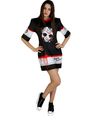 Fredag 13. Jason Hockey Kostyme til Dame